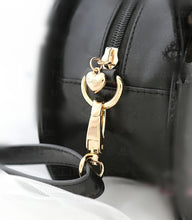 Load image into Gallery viewer, Black Kawaii Bowknot Cat Head Shoulder Bag SP167102