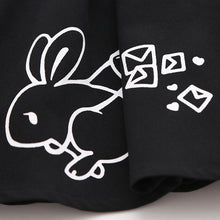 Load image into Gallery viewer, Black Kawaii Bunny Laced Skirt SP1812227