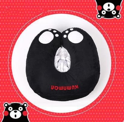 Black Kumamon Neck Protection Pillow SP167928
