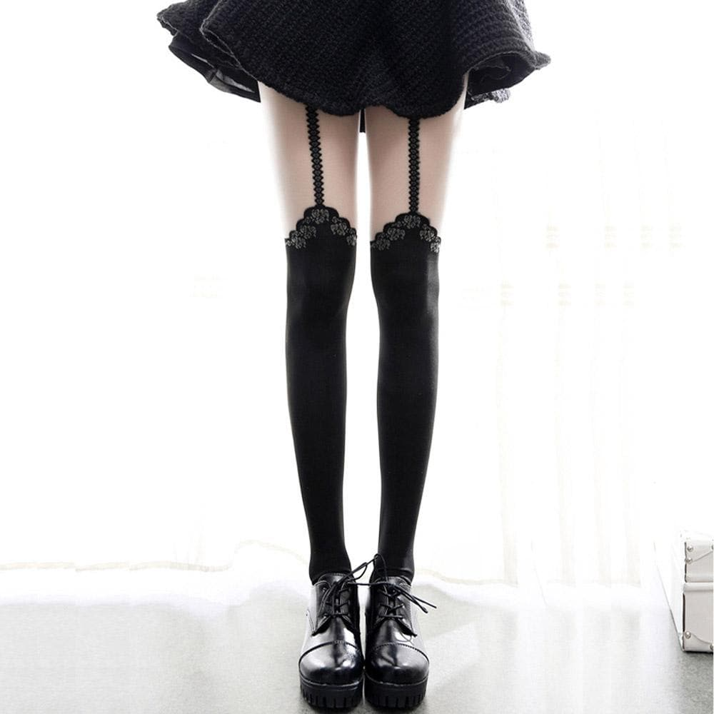 Black Lace Lolita Tights SP1811890