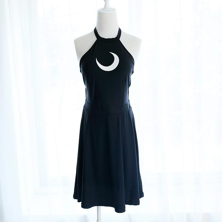 Black Sailor Moon Backless Lace One-Piece Swimsuit SP1812280