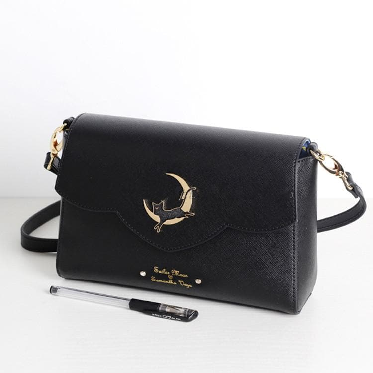 Black Sailor Moon Luna Crossbody Bag SP178760