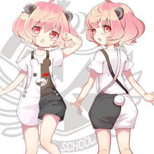 Load image into Gallery viewer, Black White Danganronpa Suspender Short SP1710308