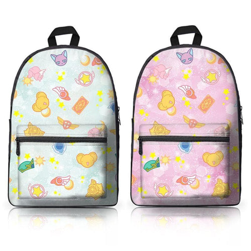 Bling Sakura Pattern Backpack SP179110