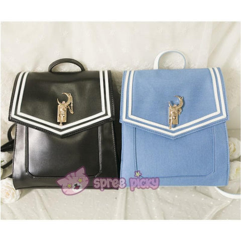 Blue/Black Sailor Moon Usagi Backpack SP152378 - SpreePicky  - 2