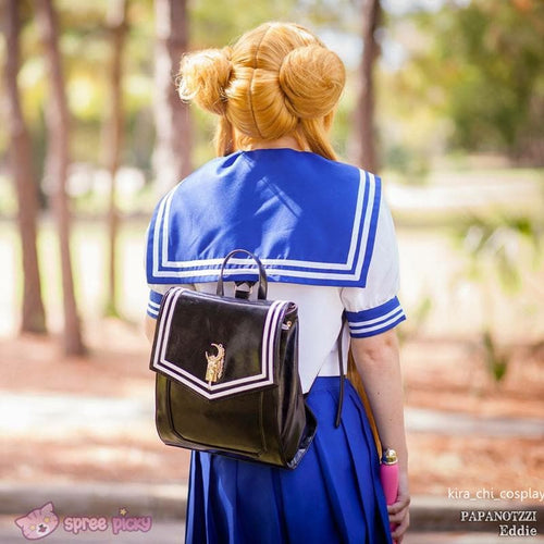 Blue/Black Sailor Moon Usagi Backpack SP152378 - SpreePicky  - 1