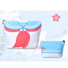 Load image into Gallery viewer, Blue/Navy Sakura Seifuku Canvas Storage Bag SP152240 - SpreePicky  - 3
