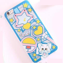 Load image into Gallery viewer, Blue/Purple Creamy Mami Cutie Phone Case SP154548 - SpreePicky  - 5