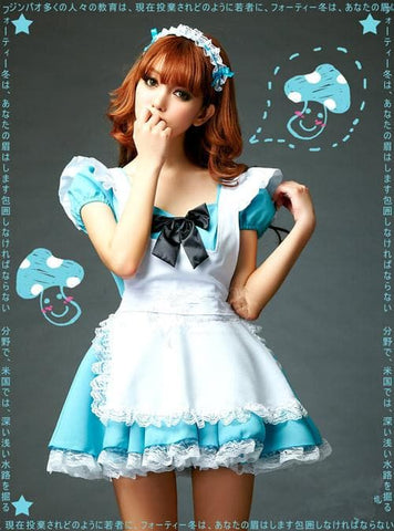 Blue Cutie Maid Dress SP141198 - SpreePicky  - 3