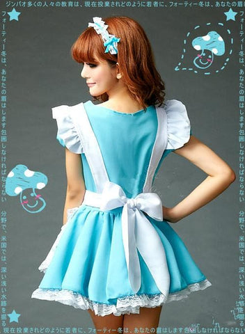 Blue Cutie Maid Dress SP141198 - SpreePicky  - 4
