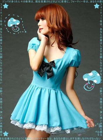 Blue Cutie Maid Dress SP141198 - SpreePicky  - 5