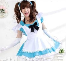 Load image into Gallery viewer, Blue Kawaii Maid Dress SP141200 - SpreePicky  - 4