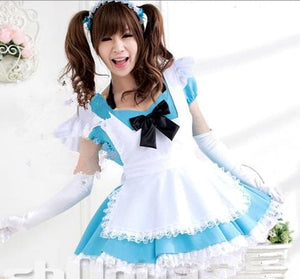 Blue Kawaii Maid Dress SP141200 - SpreePicky  - 4