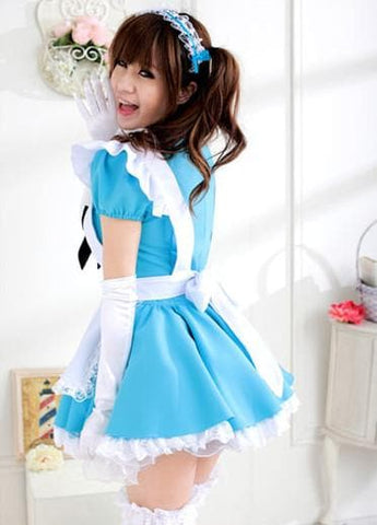 Blue Kawaii Maid Dress SP141200 - SpreePicky  - 7