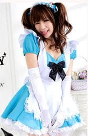 Blue Kawaii Maid Dress SP141200 - SpreePicky  - 6