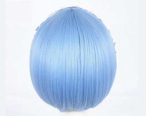 Blue Lolita Cosplay Short Hair Wig SP166804