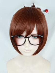 Overwatch Mei Brown Wig SP167939