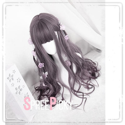 Brown Pastel Gradient Lolita Curly Wig SP179081