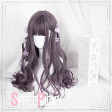 Load image into Gallery viewer, Brown Pastel Gradient Lolita Curly Wig SP179081