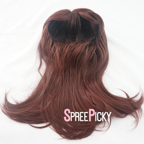 Brownish Red Overwatch D.VA Wig SP167836