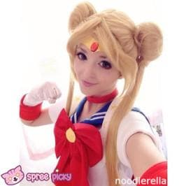 COS Sailor Moon Usagi Wigs 100 cm SP130031