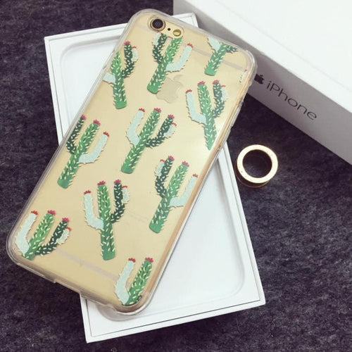 Cactus Pattern Phone Case SP167001