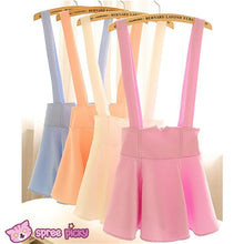 Load image into Gallery viewer, [ 6 Colors] 3 Styles Candy Suspender Skirt SP151886 - SpreePicky  - 5