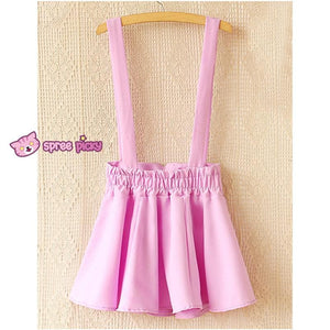 [ 6 Colors] 3 Styles Candy Suspender Skirt SP151886 - SpreePicky  - 8