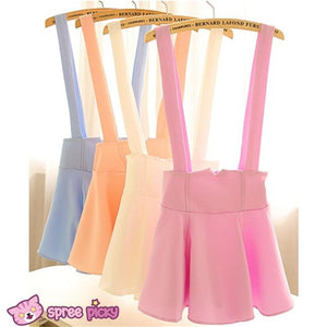 [ 6 Colors] 3 Styles Candy Suspender Skirt SP151886 - SpreePicky  - 5