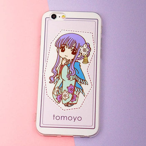 Cardcaptor Sakura/Tomoyo Kawaii Phone Case SP167760