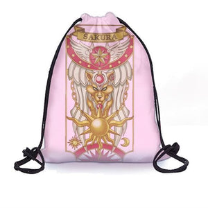 CardCaptor Sakura Card Drawstring Backpack SP179170