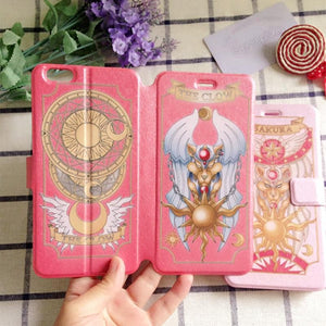 [Final Stock]CardCaptor Sakura Pink/Red Phone Case Cover SP167494