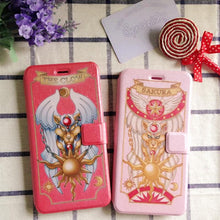 Load image into Gallery viewer, CardCaptor Sakura Pink/Red Phone Case Cover SP167494