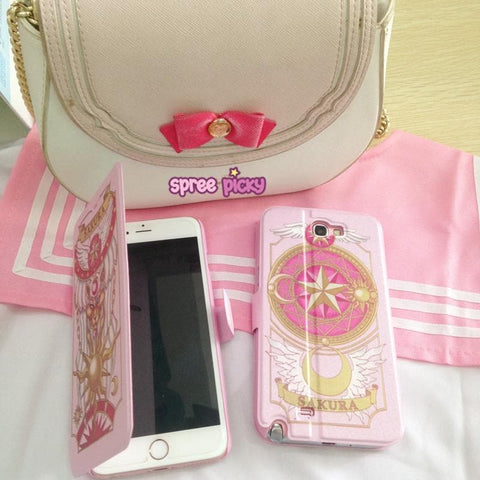[Ready Stock]CardCaptor Sakura Pink/Red Phone Case Cover SP167494
