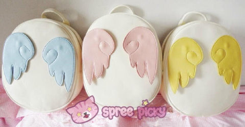 Card Captor Sakura Angel Wings Backpack SP140439 - SpreePicky  - 3