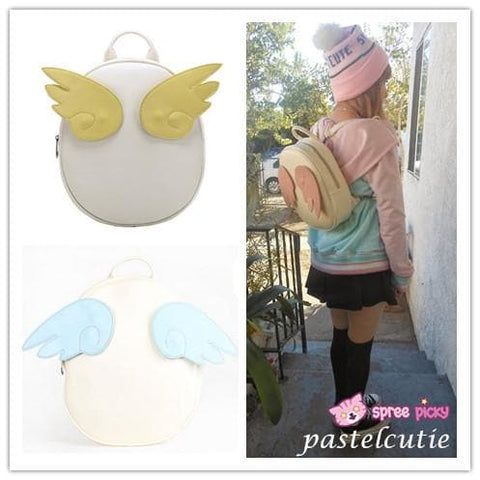 Card Captor Sakura Angel Wings Backpack SP140439 - SpreePicky  - 2