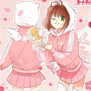 Card Captor Sakura Clow Wing Hoodie Jacket SP179132