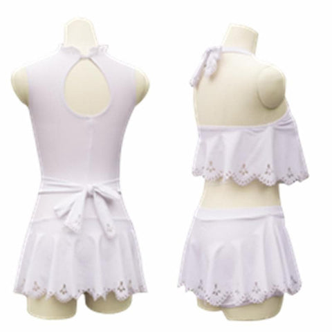 S/M/L Card Captor Sakura Hallow White Swimming Suit SP153266 - SpreePicky  - 2