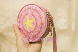 Pink/Red Card Captor Sakura Little Coin Purse SP153265 - SpreePicky  - 6