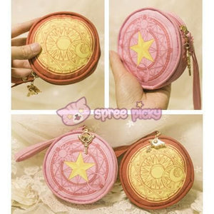 Pink/Red Card Captor Sakura Little Coin Purse SP153265 - SpreePicky  - 5