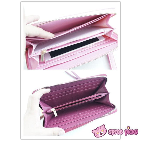 2 Colors Card Captor Sakura Magic Book Hand Bag Purse Can Pack Phone SP151782 - SpreePicky  - 5