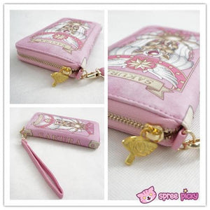 2 Colors Card Captor Sakura Magic Book Hand Bag Purse Can Pack Phone SP151782 - SpreePicky  - 6