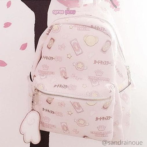 Card Captor Sakura Pink Backpack SP165533