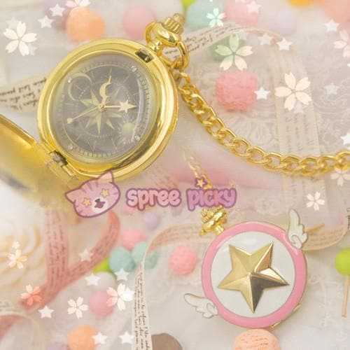 Card Captor Sakura Star Pocket Watch SP153267 - SpreePicky  - 1