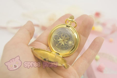 Card Captor Sakura Star Pocket Watch SP153267 - SpreePicky  - 3