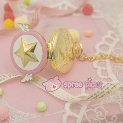 Card Captor Sakura Star Pocket Watch SP153267 - SpreePicky  - 4