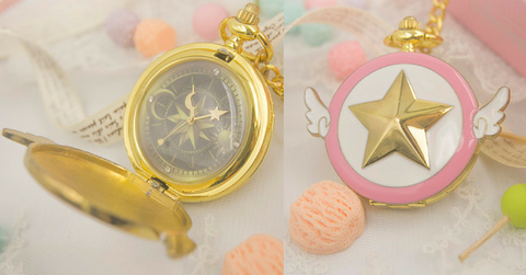 Card Captor Sakura Star Pocket Watch SP153267 - SpreePicky  - 2