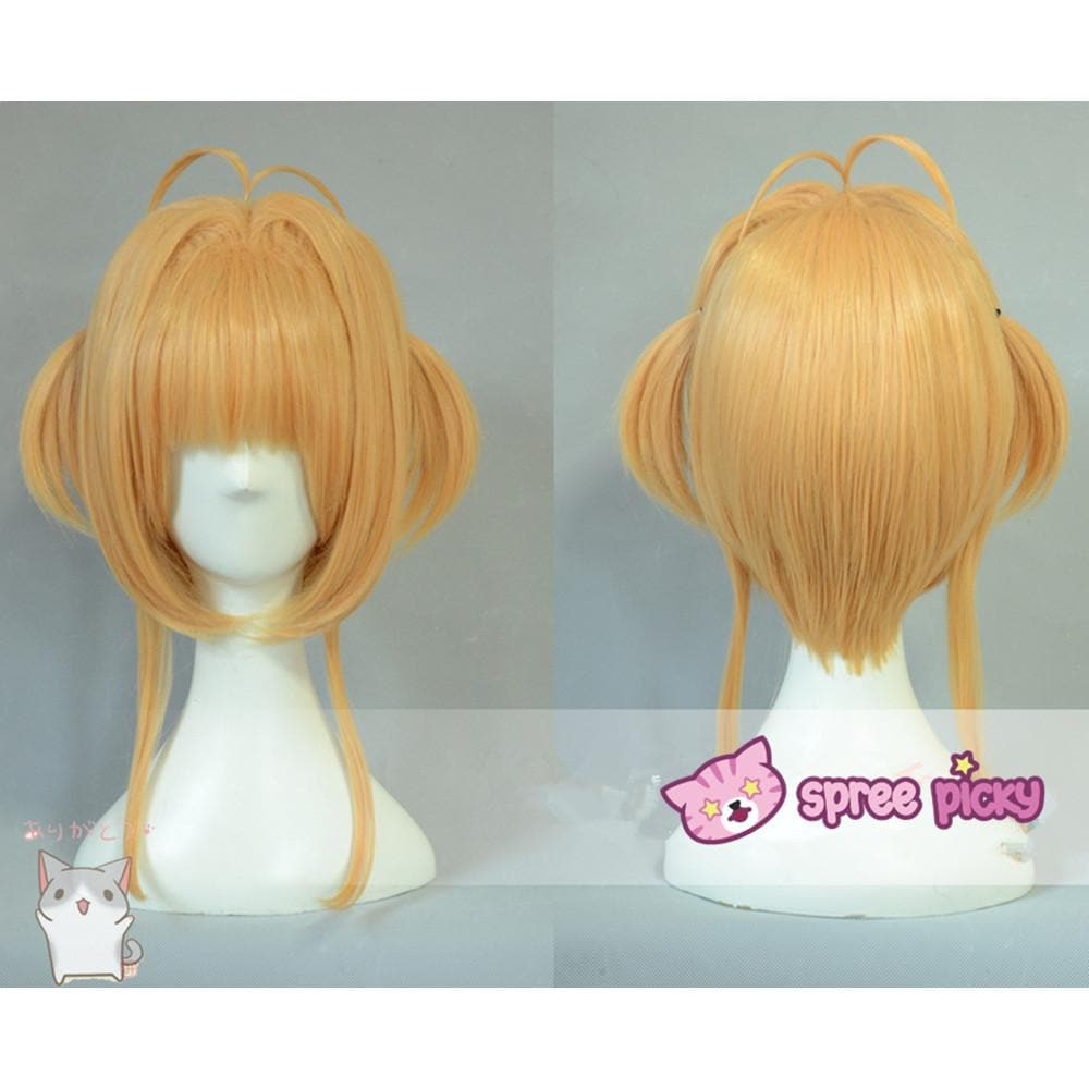 [Cardcaptor Sakura] Kinomoto Sakura Cosplay Light Brown Wig SP152891 - SpreePicky