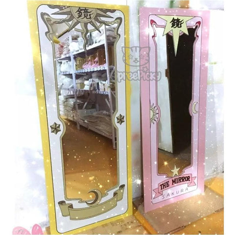 Cardcaptor Sakura The Clow/Sakura Card Mirror Sticker SP165358