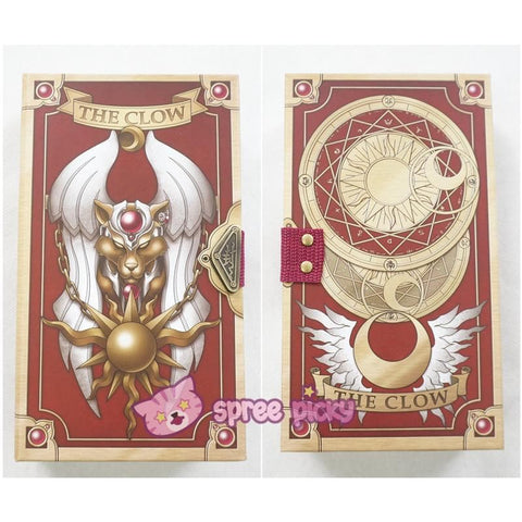 Cardcaptor Sakura The Clow Card with Magic Book Case SP152387